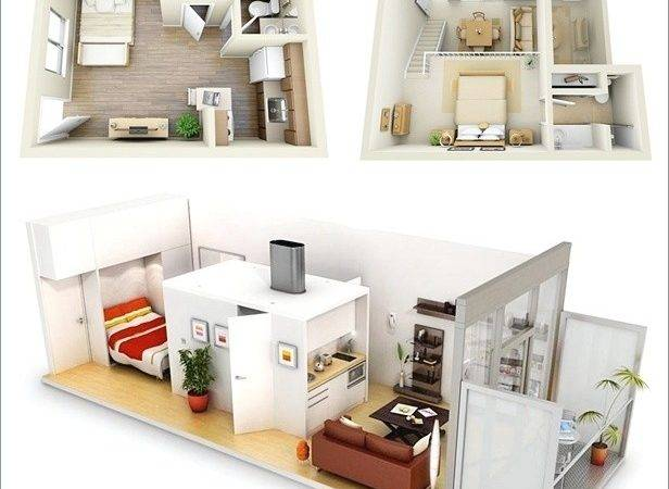 Ideas One Bedroom Apartment Floor Plans Home