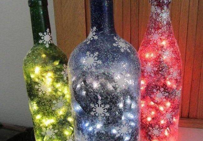 Ideas Recycle Bottles Decor Upcycle Art