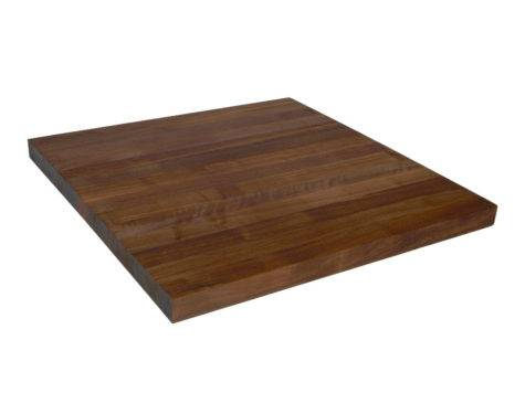 Inch Wide Butcher Block Counter Walnut