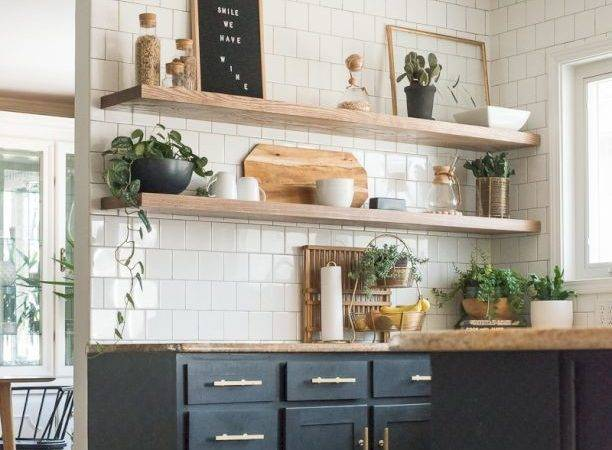 Incredible Diy Kitchen Open Shelving Ideas Homedecort
