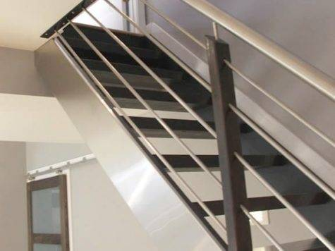 Indoor Handrails Stairs Contemporary Modern Style