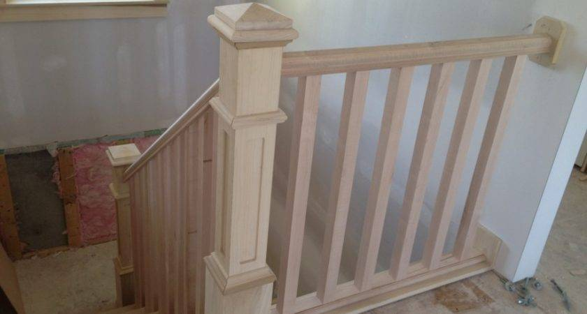 Indoor Wood Stair Railing Designs Joy Studio Design