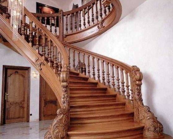 Indoor Wood Stair Railing Designs More Decor