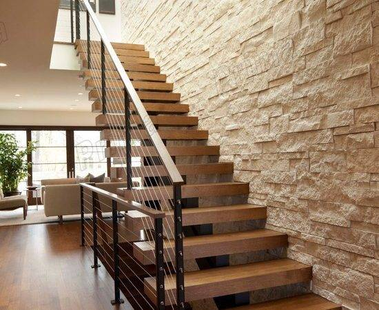 Indoor Wooden Stairs Railing Steel Staircase Buy