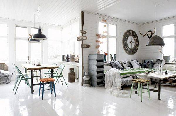 Industrial Yet Vintage Interior Design