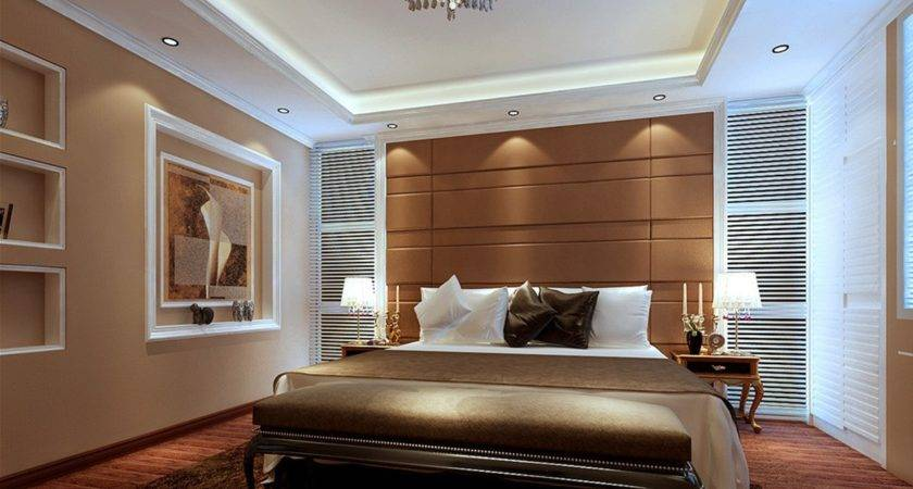 Innovative Bed Designs Bedrooms Light Brown Walls