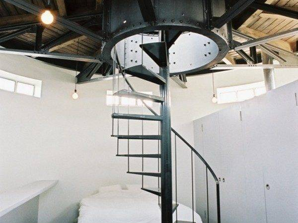 Innovative Conversion Water Tower Turned Into Modern