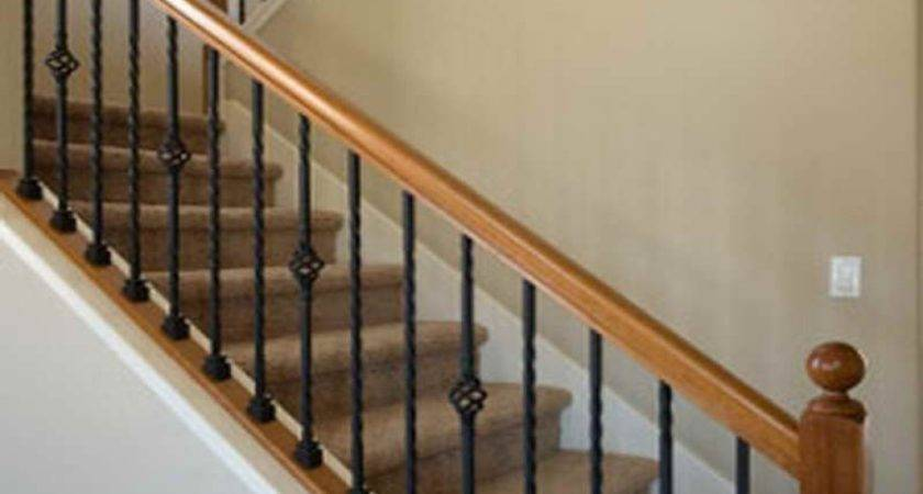 Inside Railings Rustic Stair Railing Ideas