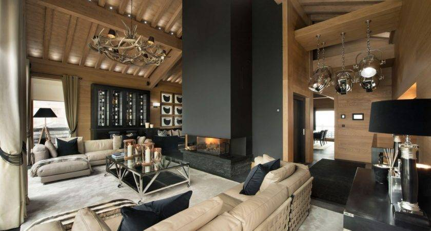Inspiring Modern Chalet Interior Design French Alps