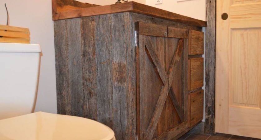 Inspring Diy Reclaimed Wood Bathroom Vanity Design Ideas