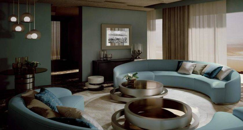 Interior Design Fendi Casa Dubai Project