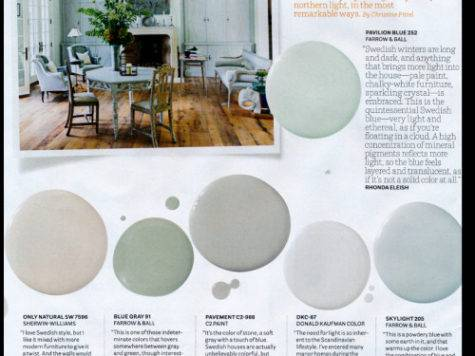 Interior Designers Pick Their Favorite Swedish Paint Colors