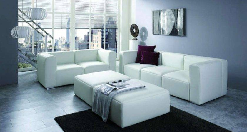 Interior Rendering Black Sofa Design