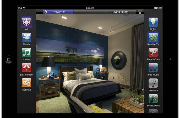 Ipad Home Automation Here Safe Sound Technology