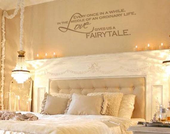 Items Similar Love Gives Fairytale Vinyl Wall