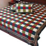 Items Similar Multi Color Block Printed Double Bed