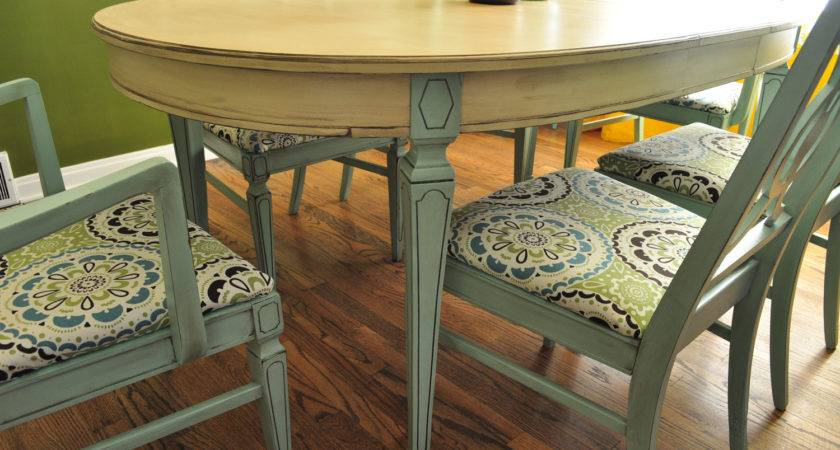 Items Similar Sold Custom Painted Dining Room Table