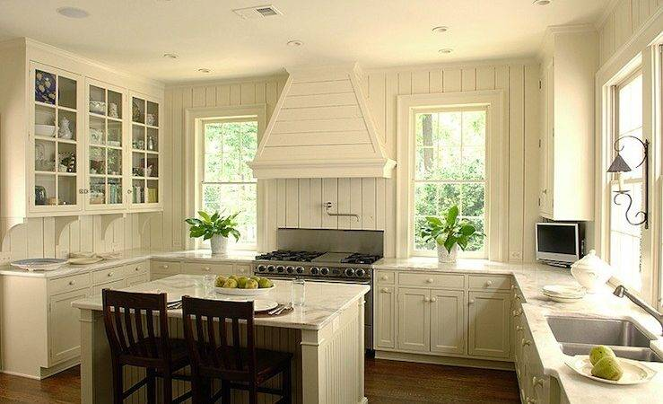Ivory Kitchen Cabinets Cottage Litchfield