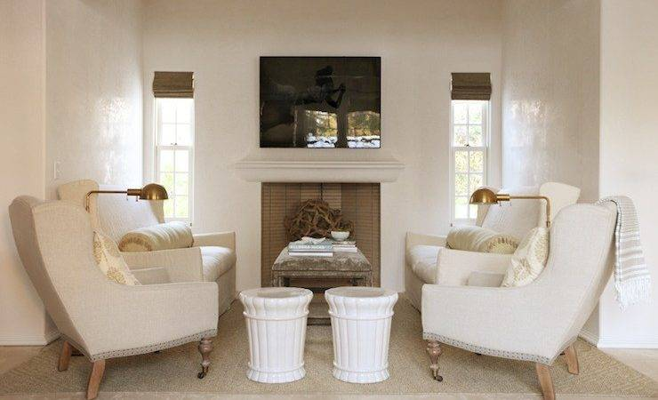 Ivory Wall Paint Cottage Living Room Pratt