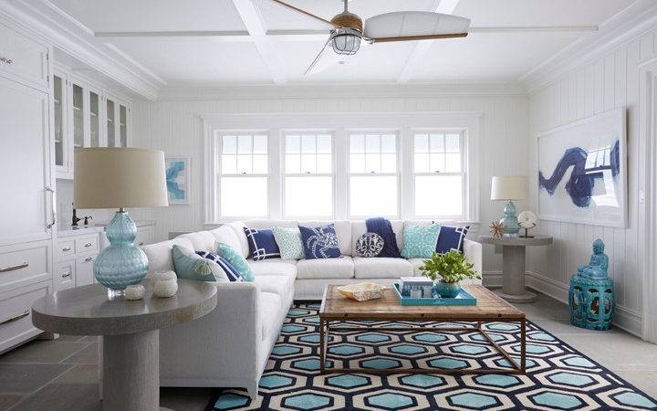 Jules Duffy Designs House Turquoise