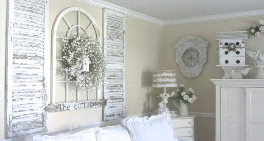 Junk Chic Cottage Guest Room New Treasures