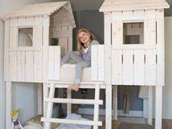 Kids Bed Houses Out Pallets Wood Pallet Furniture