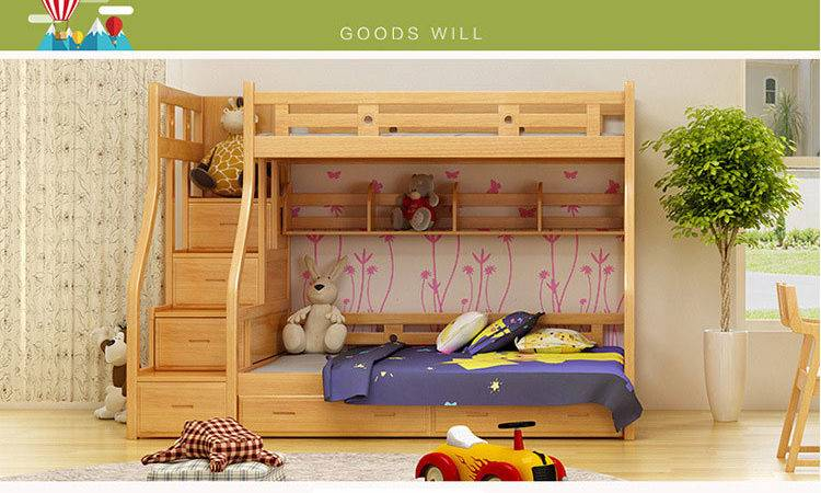 Kids Beds Boys Girls Bedroom Furniture Castle Bunk
