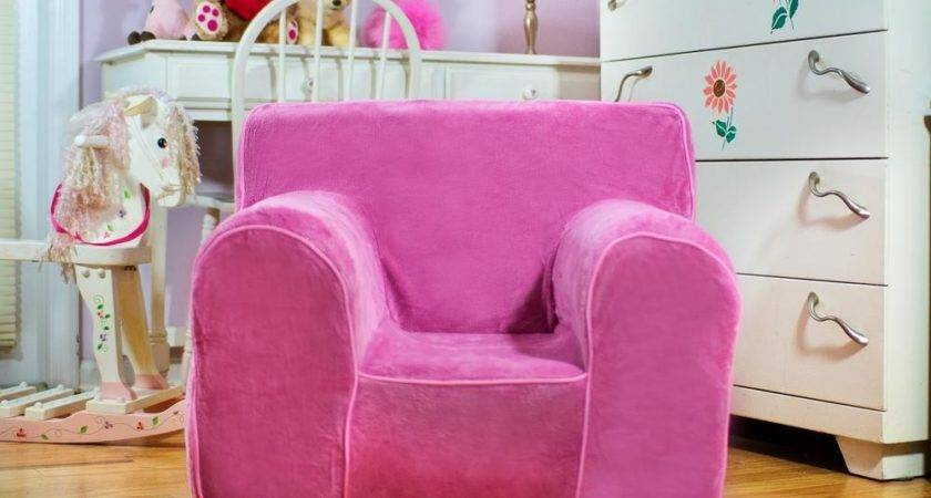Kids Room Disney Pink Color Chair Girls