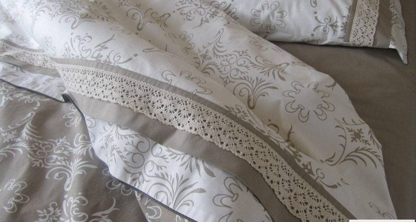King Duvet Cover French Country Home Cotton