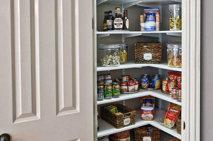 Kitchen Beautiful Space Saving Pantry Ideas