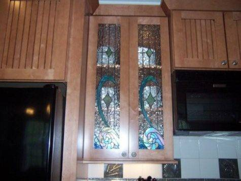 Kitchen Cabinet Glass Doors Only