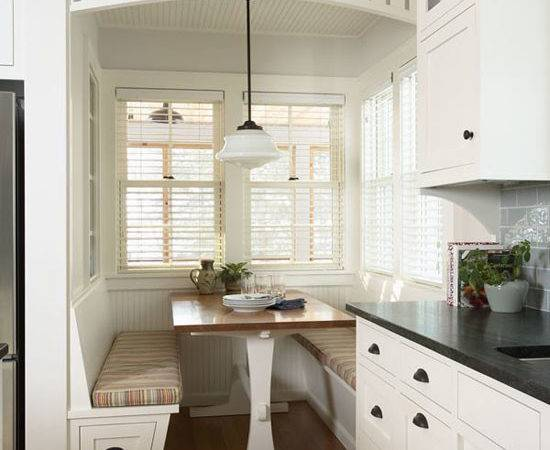 Kitchen Corner Seating Charming Interior Ideas