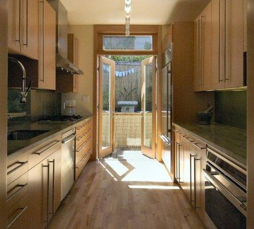 Kitchen Corridor Home Design Ideas Remodel