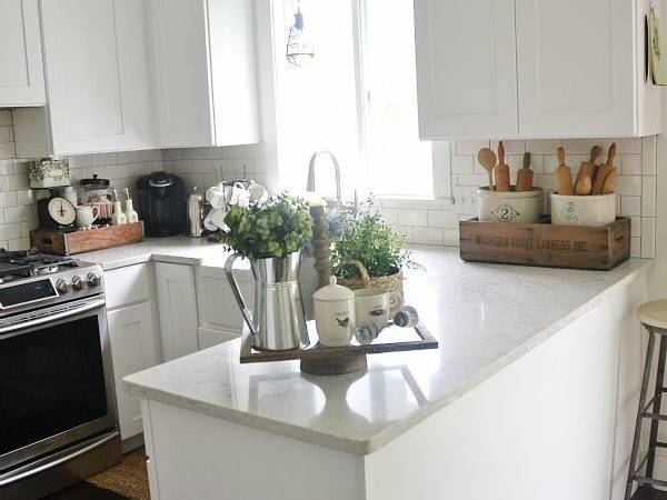 Kitchen Decorate Counter Space
