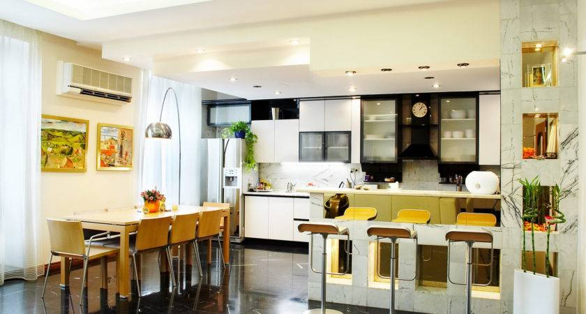 Kitchen Dining Room Designs Small Spaces