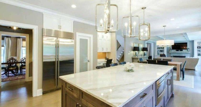 Kitchen Open Designs Island