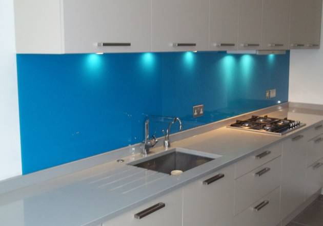 Kitchen Splashbacks Marys Penrith Blue