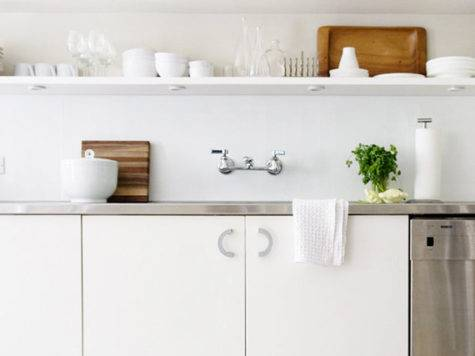 Kitchens Open Shelves Simplified Bee