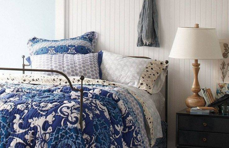 Lavender White Bedding Comforters Blue Wall Cobalt