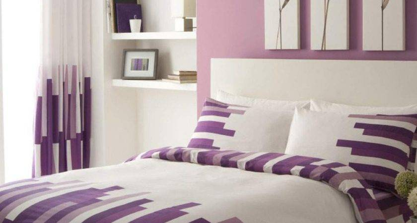 Lavender White Bedding Decorate House