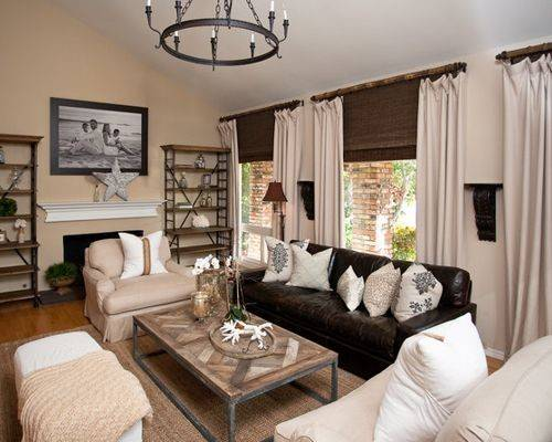 Leather Couch Living Room Home Design Ideas