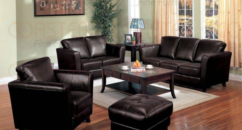 Leather Living Room Decorating Ideas