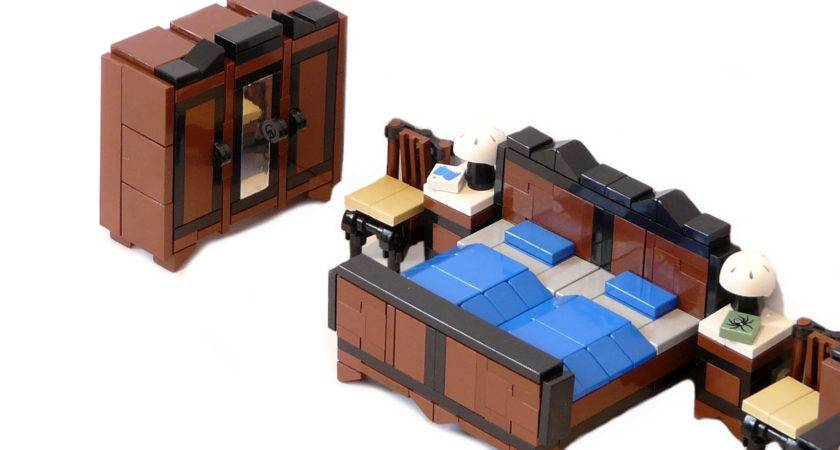 Lego Ideas Minifig Furniture Bedroom