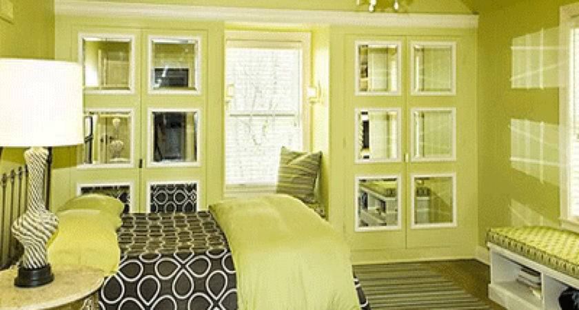 Lemon Yellow Painting Color Bedroom Home Combo
