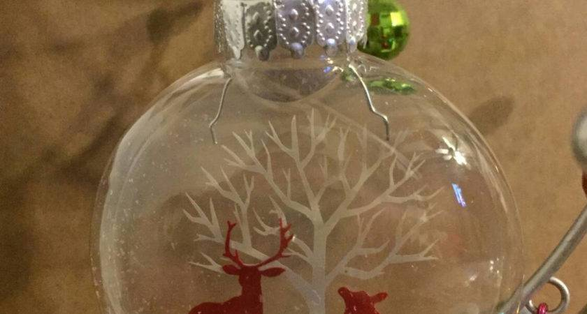Let Snow Floating Ornament Christmas