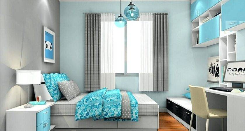 Light Blue Bedroom Accent Color Incredible Homes