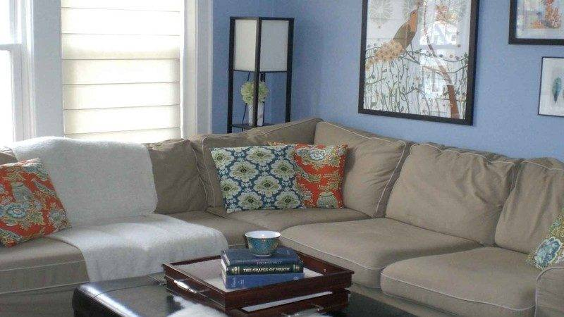 Light Color Paint Living Room Gray