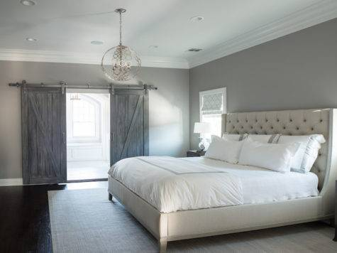 Light Gray Bedroom Paint Design Decor Photos