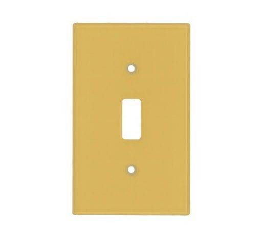 Light Mustard Yellow Solid Color Switch Cover Zazzle