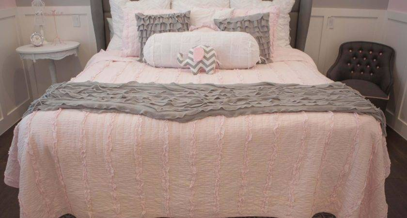 Light Pink Grey Bedroom Trends Including Decor